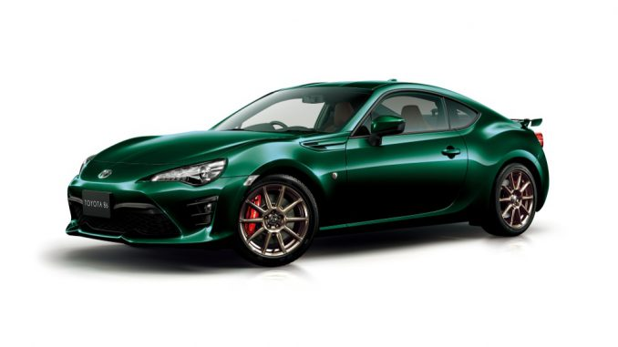 "86特別仕様車GT ""British Green Limited"""