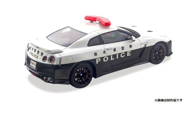 Hi-Story 1/24 Nissan GT-R PATROL CAR 栃木県警察