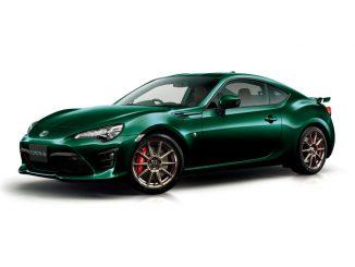 """86特別仕様車GT """"British Green Limited"""""""