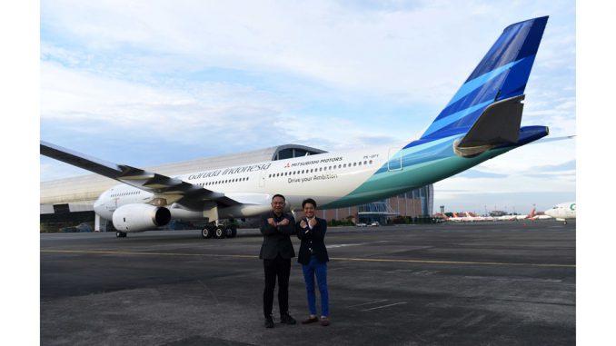 MITSUBISHI_Garuḍa Indonesia Airline