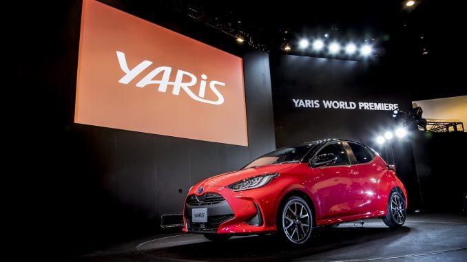 世界初公開】ヴィッツ改め新型ヤリス! 燃費性能20%アップにEV