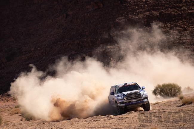 ●TLCは326号車のC・ラビエルが市販車部門トップへ躍り出た