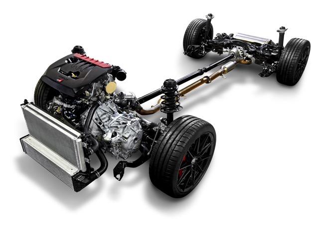 ●新開発1.6L直3ターボ「G16E-GTS」エンジンに6速iMT、4WD機構に新開発システム「GR-FOUR」を組み合わせる