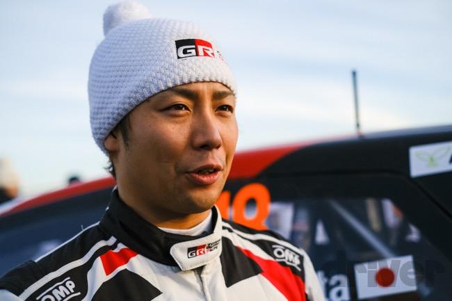 ●目まぐるしく変化する路面に苦労しながらも総合9位で完走した勝田貴元