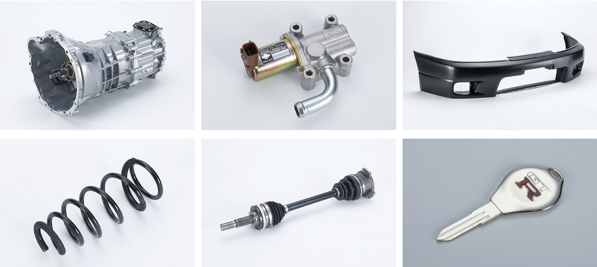 ●NISMOヘリテージパーツに、スカイラインGT-R(R32、R33、R34)用46アイテムを追加発売